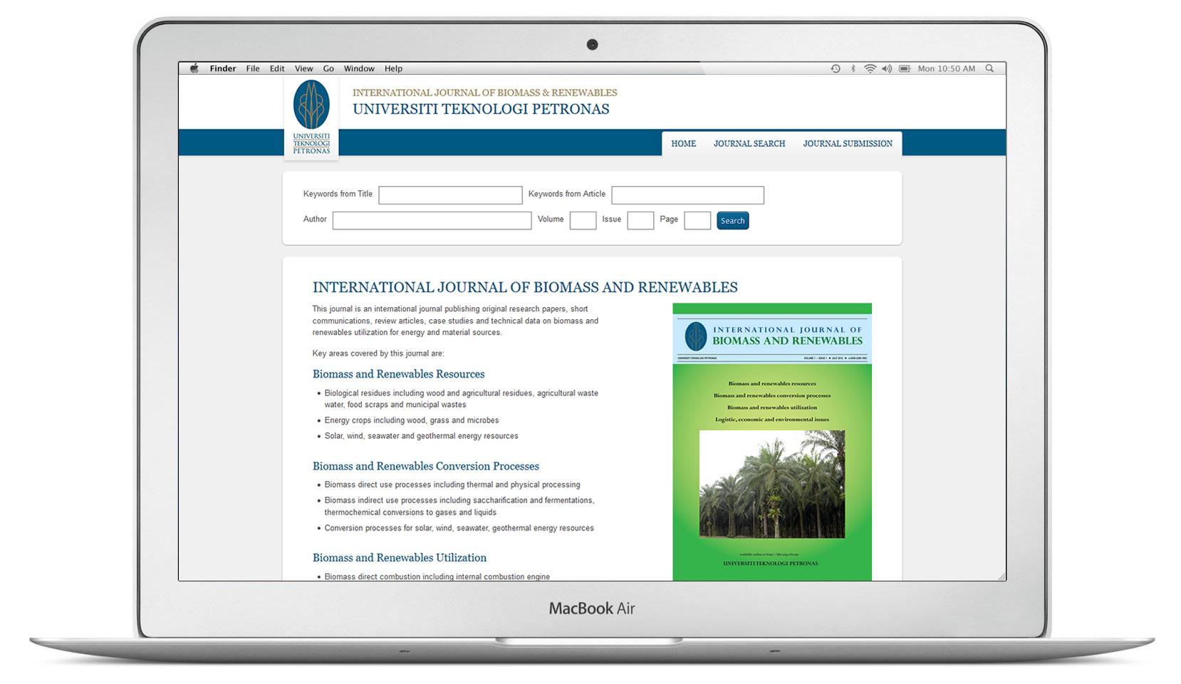International Journal of Biomass and Renewables
