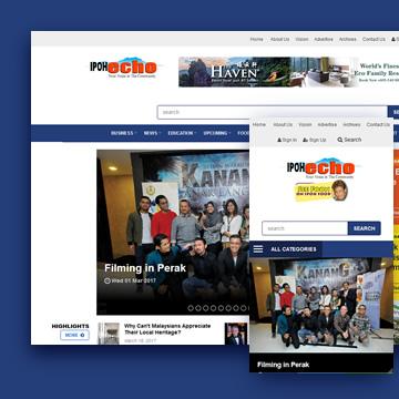 Ipoh Echo Website Design